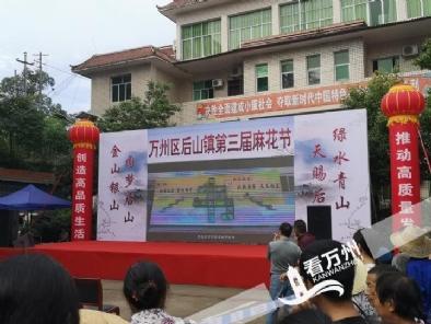 """后山镇举办第三届""""麻花节"""" 为实施乡村振兴战略创造良好条件"""