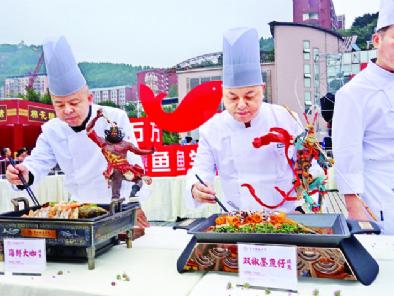 烤鱼盛宴正式开席 三峡美食万州启航2021三峡美食文化节暨万州烤鱼节持续火热开展